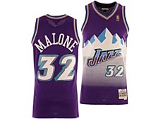 Utah Jazz Youth Hardwood Classic Swingman Jersey - Karl Malone