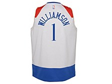 New Orleans Pelicans Youth City Edition Swingman Jersey - Zion Williamson