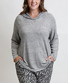 Women's Plus Size Cozy Hoodie