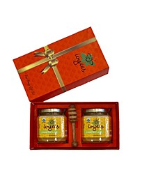 Creamed Floral Ginger Honey Gift Set, 2 Piece