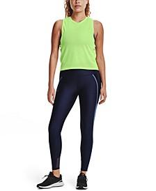 Women's HeatGear® Shine Mesh Full Length Leggings