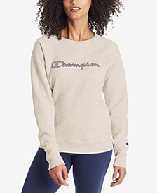 Women's Applique Logo Sweatshirt