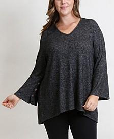 Women's Plus Size Cozy Top