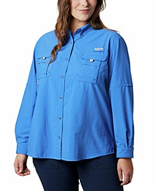 Plus Size Bahama Shirt