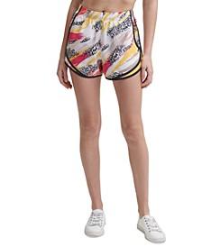 Printed Running Shorts