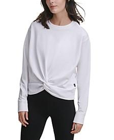 Sport Twist-Front Sweatshirt