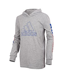 Big Boys Long Sleeve Collegiate Hoodie