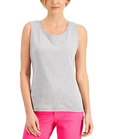 Cotton Top-Stitch Tank Top, Created for Macy's