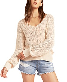 Juniors' Feel The Breeze Sweater