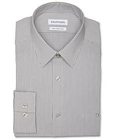 Logo Men's Slim Fit Stretch Collar Dress Shirt, Online Exclusive