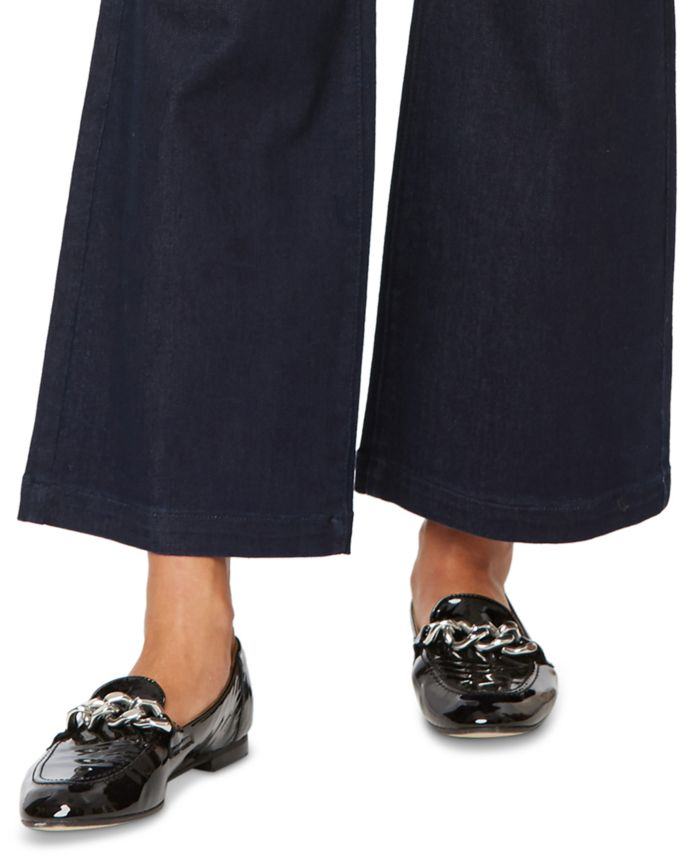 NYDJ The Teresa Wide-Leg Ankle Jeans & Reviews - Jeans - Juniors - Macy's