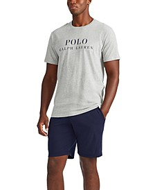 Men's Knit Graphic Logo Enzyme T-Shirt
