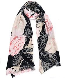 INC Scrolling Blooms Pashmina, Created for Macy's