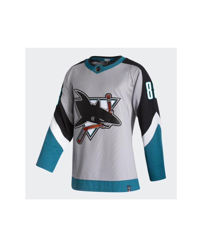 Adidas San Jose Sharks Men's Authentic Reverse Retro Player Jersey Brent Burns & Reviews - NHL - Sports Fan Shop - Macy's
