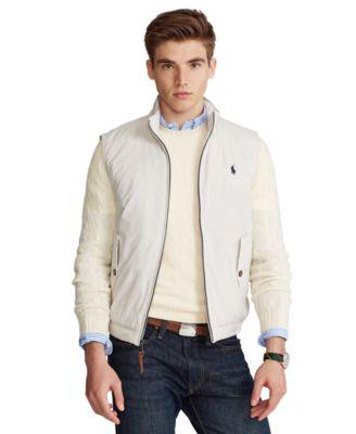 폴로 랄프로렌 조끼 Polo Ralph Lauren Mens Packable Mockneck Vest