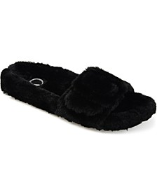 Women's Faux Fur Shadow Slipper