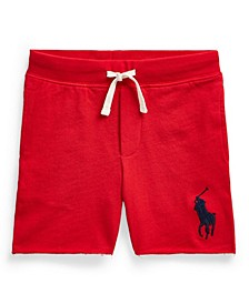 Little Boys Big Pony Pull-On Short