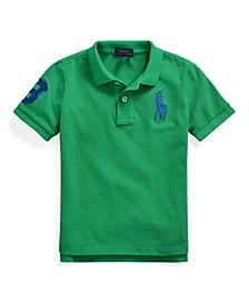 Big Boys Classic Fit Polo Shirt