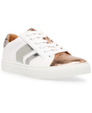 Aldy Lace-Up Chevron Sneakers Women's Shoes