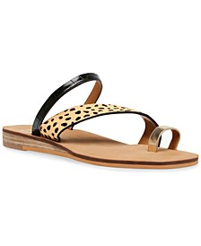 Lulu Strappy Flat Sandals