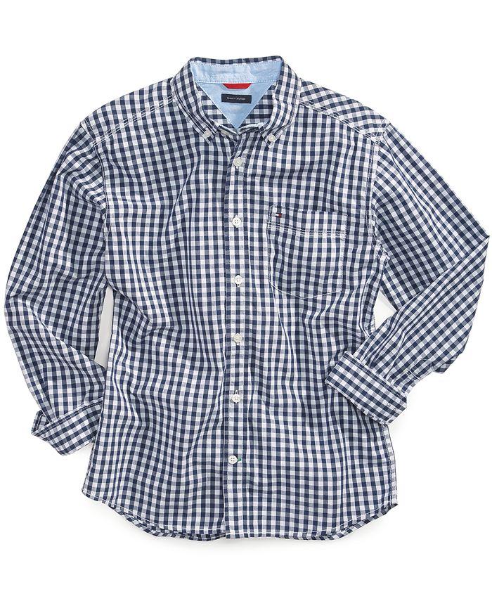 Tommy Hilfiger - Little Boys' Baxter Gingham Shirt