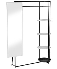 Kovdor 4-Shelf Coat Stand