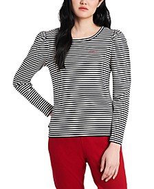 Striped Cheers Embroidered Shirt, Created for Macy's
