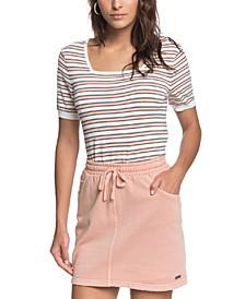 Juniors' In A Dream Mini Skirt