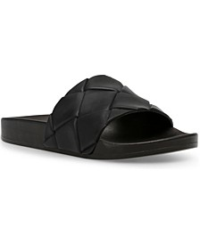 Women's Soulful Quilted Pool Slides