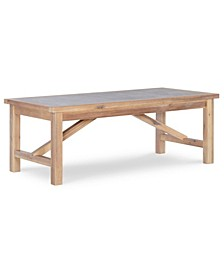 Colridge Rustic Coffee Table