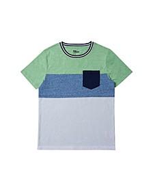 Big Boys Color Block Pocket T-shirt