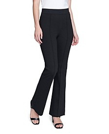 Women's Compression Ponte Flare Leg Pant
