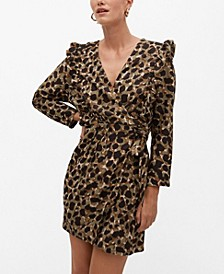 Women's Animal Print Dress