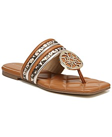 Women's Artem Square-Toe Thong Sandals