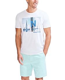 Men's Sustainable Sailboat Graphic T-Shirt