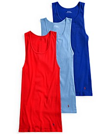 Men's 3-Pk. Classic Cotton Tanks