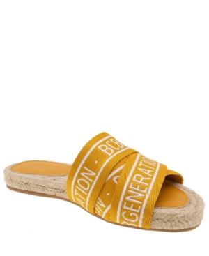 Women's Maya Logo Slide Espadrille Sandal Women's Shoes
