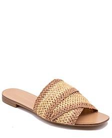 Women's Krystin Woven Slide Sandal