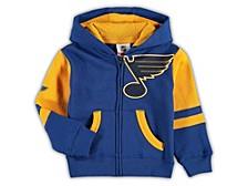 Toddler St. Louis Blues Faceoff Full Zip Hoodie