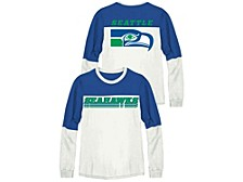Seattle Seahawks Women's Comeback Crew Shirt