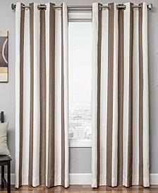 "CLOSEOUT! Softline Sunbrella Outdoor Stripe 52"" x 84"" Panel"