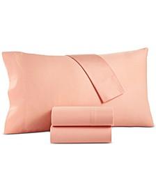 Sleep Pure 325-Thread Count Organic Cotton Twin Sheet Set, Created for Macy's