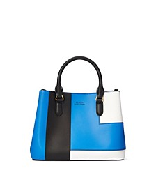 Marcy II Patchwork Leather Mini Satchel
