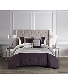 Imani Bed in a Bag 10 Piece Comforter Set, King