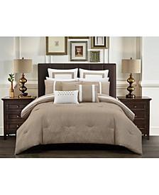 Arlow 12 Piece Bed In a Bag Comforter Set