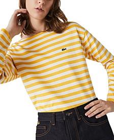 Cotton Striped Sailor T-Shirt