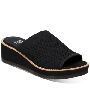 Eileen Fisher WOMEN'S TELLY WEDGE SANDALS WOMEN'S SHOES