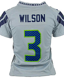 Nike Kids' Russell Wilson Seattle Seahawks Game Jersey, Big Boys (8-20)
