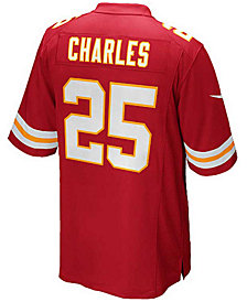 Nike Kids' Jamaal Charles Kansas City Chiefs Game Jersey, Big Boys (8-20)