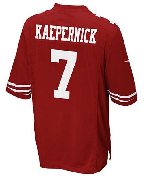 new style 974b9 9b02a Nike Kids' Colin Kaepernick San Francisco 49ers Game Jersey ...